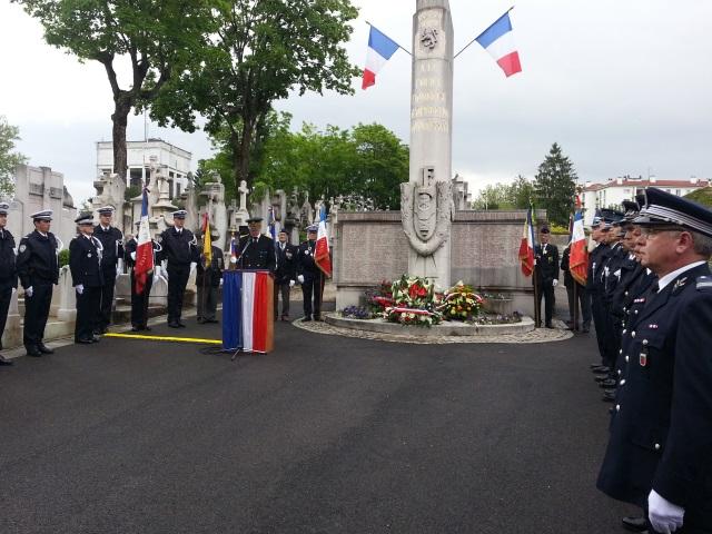 Lyon : cérémonie en mémoire des policiers morts pour la France ce mercredi