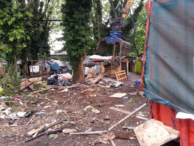 Démantèlement d'un camp de Roms ce mardi dans le 3e arrondissement