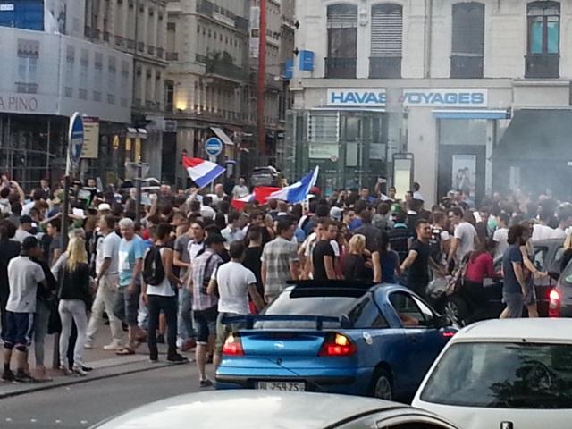 France-Allemagne : un écran géant sur la place Bellecour vendredi !
