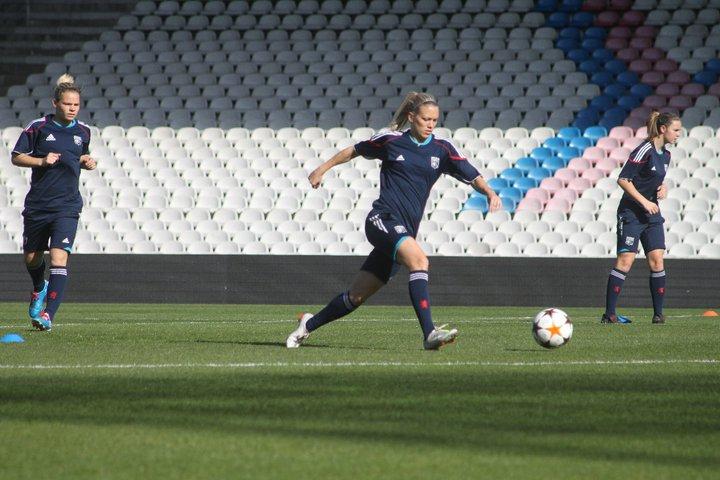 L'OL féminin écrase Saint-Etienne à Gerland