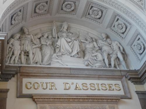Les époux Humbert devant la cour d'Assises de Lyon