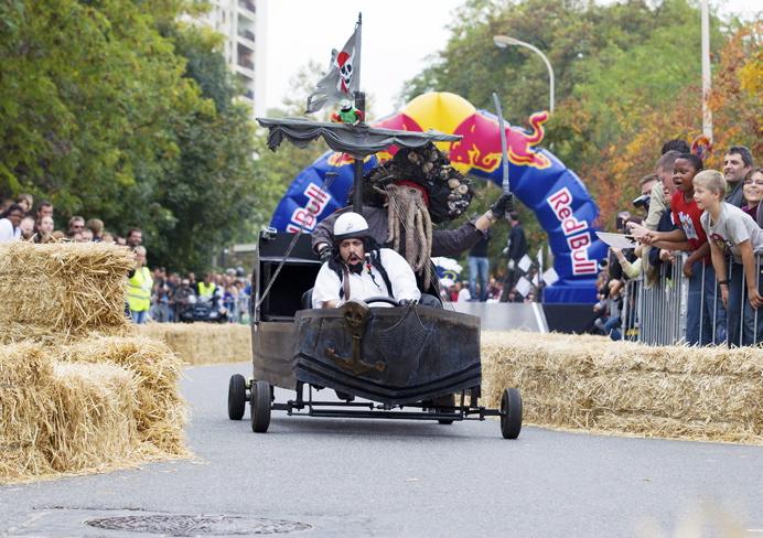 La Course Red Bull Caisses à savon de Lyon annulée
