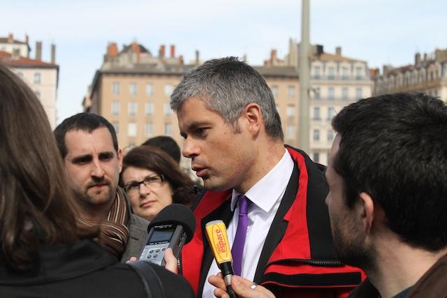 Laurent Wauquiez annule son déplacement à Vaise jeudi