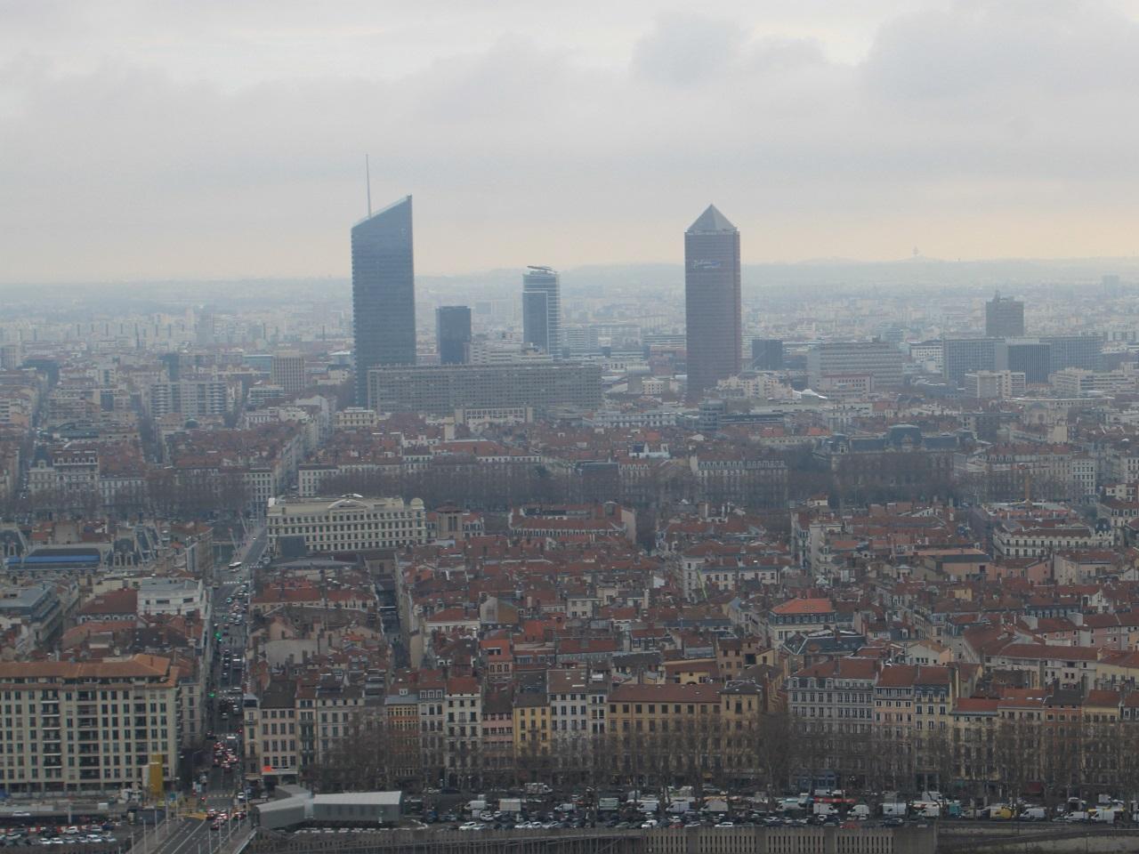 Les particules fines présentes en masse à Lyon lundi et mardi