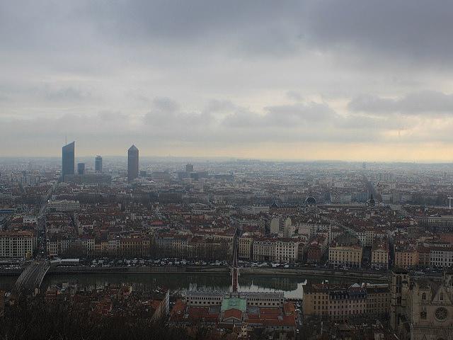 Le bassin de Lyon en vigilance jaune pollution