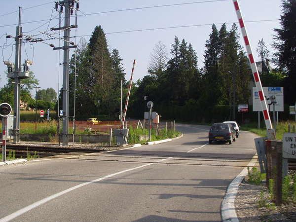 Un projet de radar au passage à niveau de Saint-Pierre-de-Chandieu