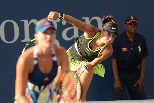 Caroline Garcia et Kristina Mladenovic s'inclinent en finale de l'US Open