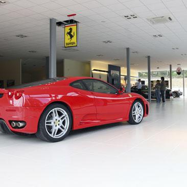 Ferrari débarque à Limonest