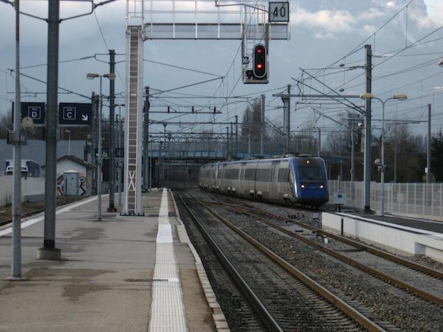 Des perturbations sur la ligne TER Lyon-Bourgoin-Grenoble