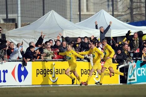Foot : nouvel exploit de Chambéry en Coupe de France