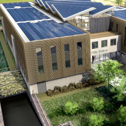 Saint-Priest : le premier bâtiment d'entreprise à énergies positives en France