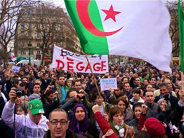 Une manifestation de soutien aux Algériens samedi à Lyon