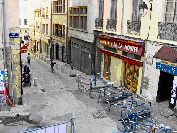 Le Grand Lyon revitalise le bas des pentes de la Croix-Rousse