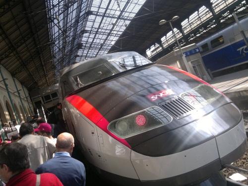 Le trafic de la ligne TGV Lyon-Paris  perturbé jeudi