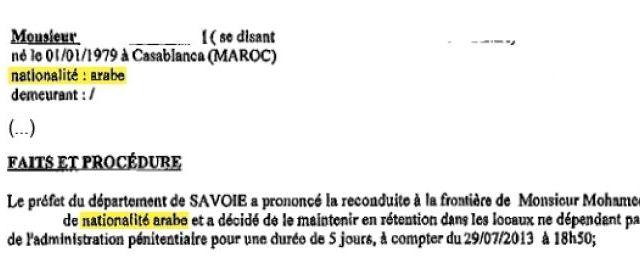 L'ordonnance de la cour d'appel de Lyon confond nationalité et langue - DR