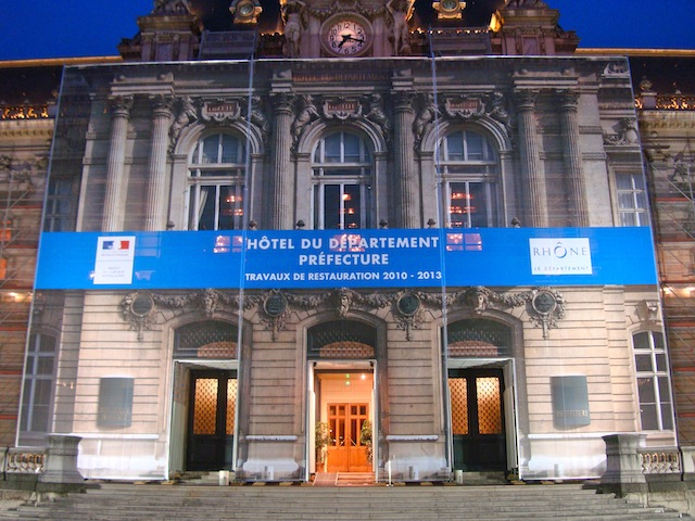 Dimanche électoral  dans le Rhône