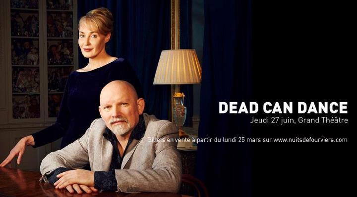 Dead Can Dance annoncé aux Nuits de Fourvière