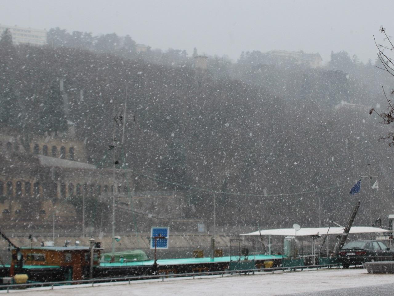 La neige ne perturbe pas la circulation dans la Métropole