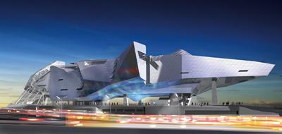 Le futur musée du Confluent