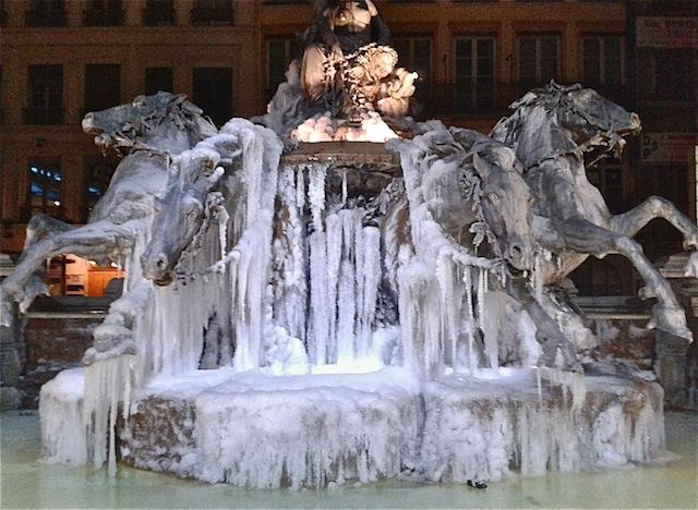 Vague de froid : Lyon pétrifié encore une semaine