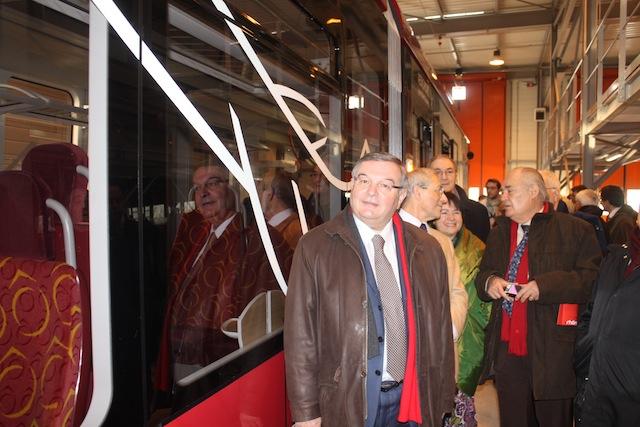 Le tracé du tram Rhônexpress en question
