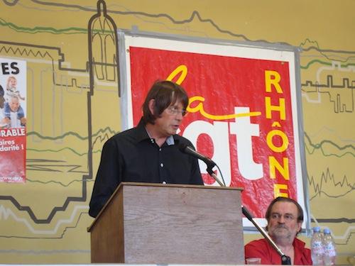 Bernard Thibault prépare à Lyon la mobilisation nationale sur les retraites