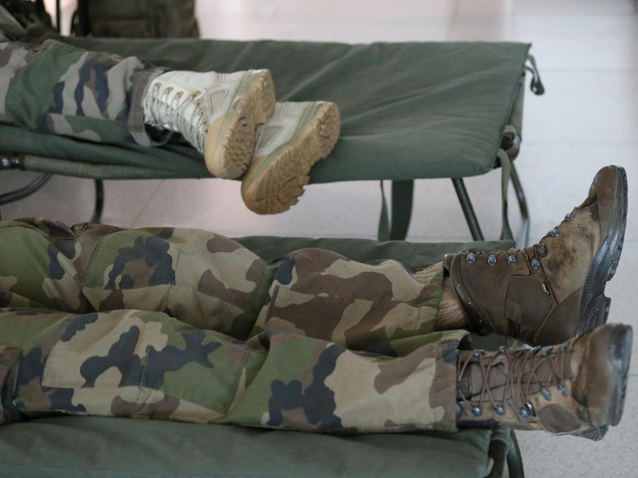 Les lits des soldats - LyonMag