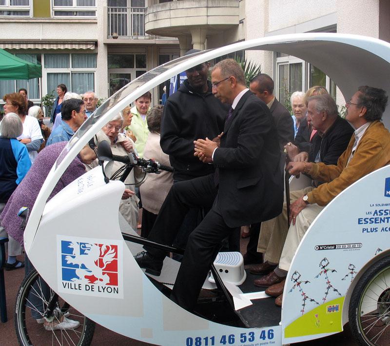 De nouveaux cyclo-pousses à Lyon