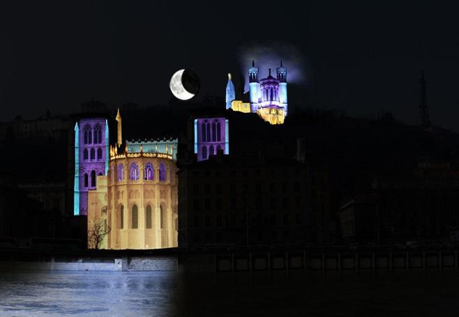 Les cinq oeuvres incontournables de la Fête des Lumières 2010