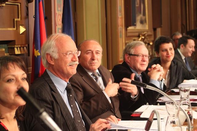Le conseil municipal de Lyon se déroule lundi après-midi