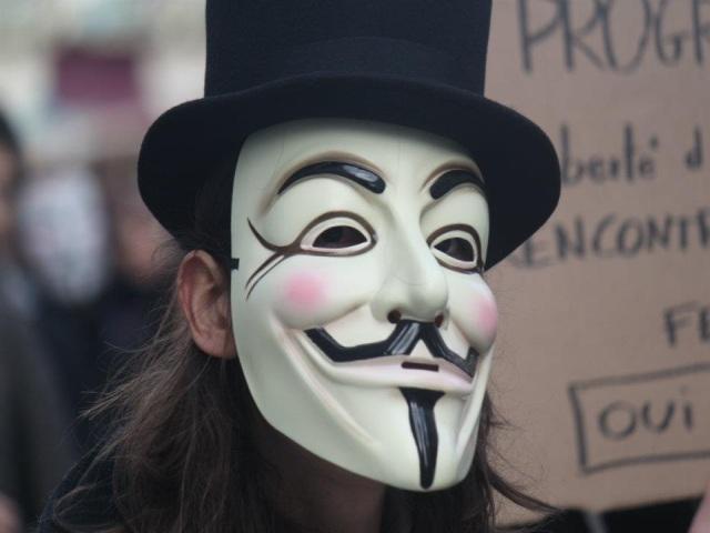 Le mouvement Anonymous s'essoufle à Lyon