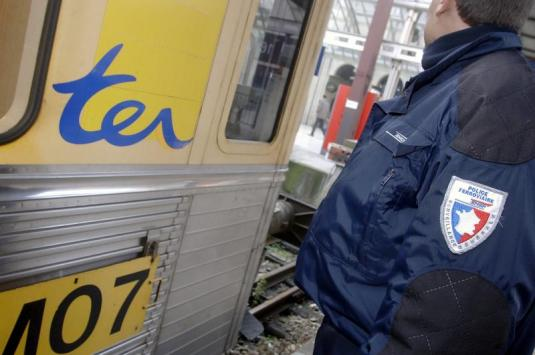 Un passager violent dans un train Lyon-Bourg en Bresse