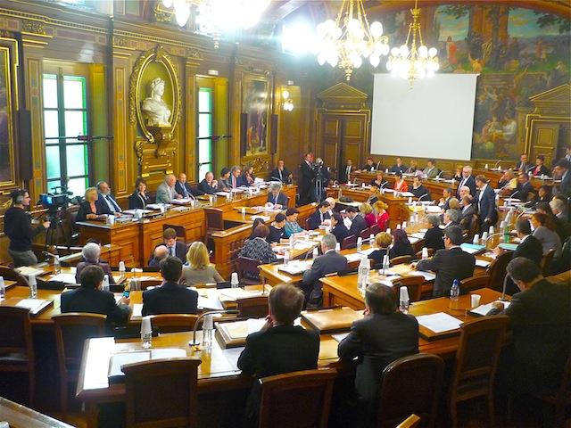 La ville de Lyon a voté son budget 2012