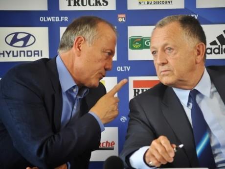 Bernard Lacombe et Jean-Michel Aulas - LyonMag
