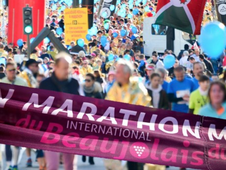Près de Lyon: le Marathon du Beaujolais finalement annulé