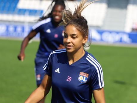 Delphine Cascarino (OL) offre 50 000 euros à Sport dans la Ville