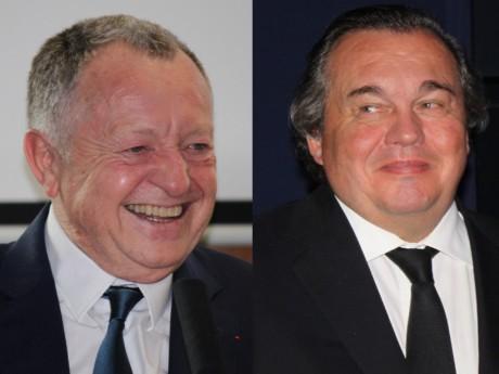 Jean-Michel Aulas et Olivier Ginon - Lyonmag.com