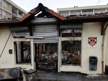 Incendie au club-house du FC Gerland : le local n'était pas assuré