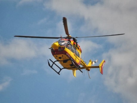 Chaponnay : un hélicoptère mobilisé pour un malaise cardiaque