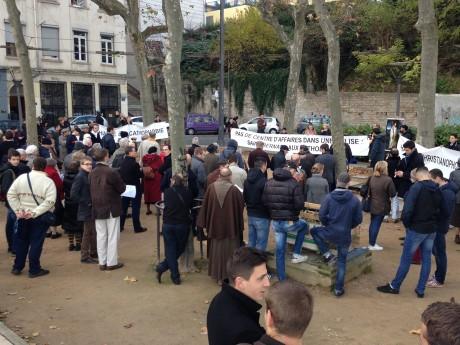 Les groupes anarchistes de Lyon dans la rue pour la 2e semaine