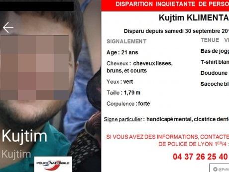 Porté disparu depuis samedi, un jeune handicapé retrouvé sain et sauf à Lyon