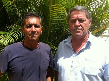 Bruno Odos et Pascal Fauret, les deux pilotes - DR