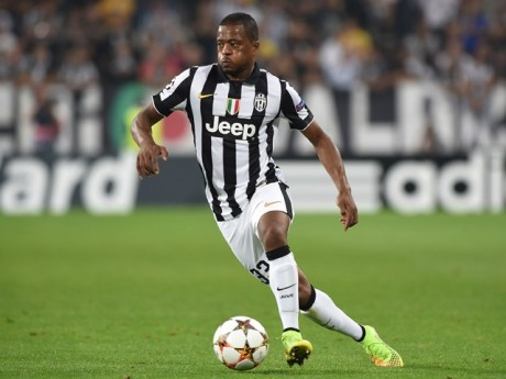 Patrice Evra sous les couleurs de la Juventus de Turin - DR