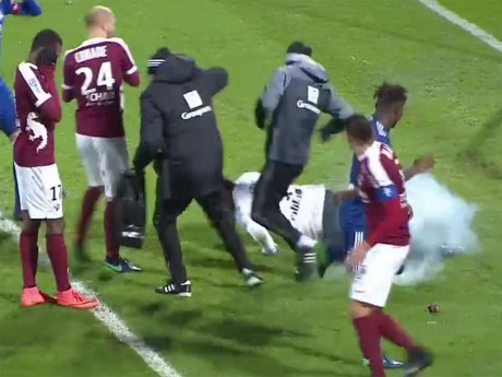 Incidents lors du match Metz-OL : un homme placé en garde à vue