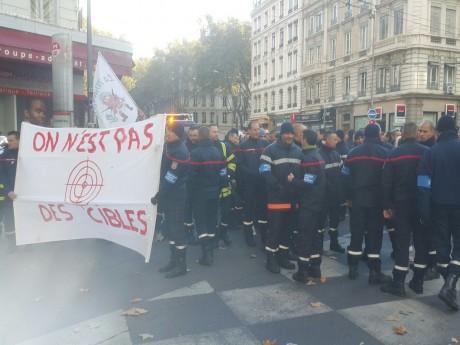 Sécurité : les pompiers du Rhône de nouveau en grève ce lundi