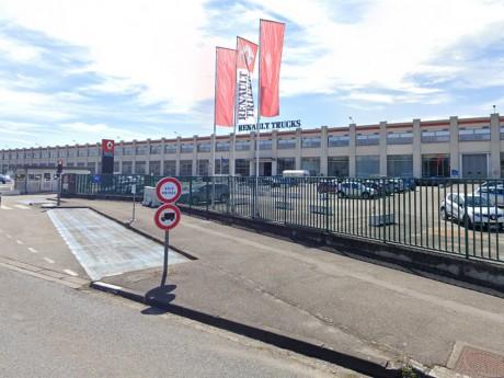 Le site Renault Trucks de Vénissieux - DR Google Street View