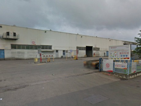 C'est dans ce centre de tri que la macabre découverte a été faite - DR Google Street View