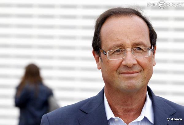 François Hollande à Vaulx-en-Velin