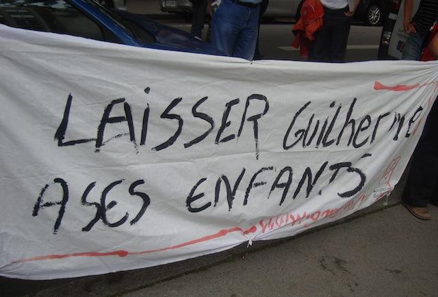 Guilherme Azanga reste sous le coup d'une expulsion