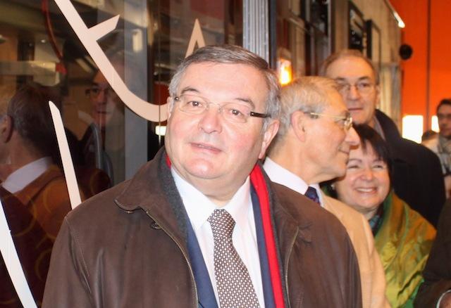 Michel Mercier en coup de vent à l'université d'été de l'Alliance centriste